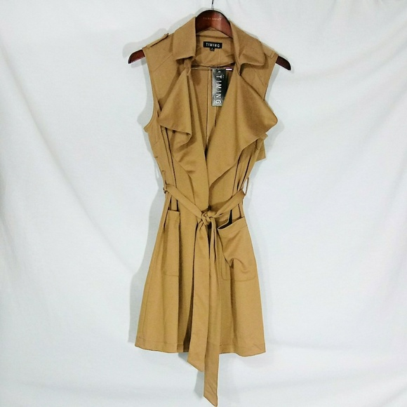 3331138224e Sleeveless Lofty Blend Tie Sweater Vest